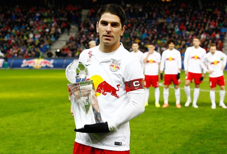 Soccer - Austrian Football Bundesliga - Red Bull Salzburg v SK Rapid Wien - Red Bull Arena